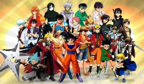 Os Heróis Mais Forte Dos Animes